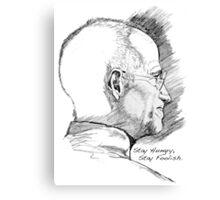 Stay Hungry, Stay Foolish. Steve Jobs, 1995 – 2011 Canvas Print