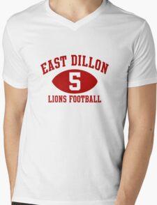 East Dillon Lions #5 Mens V-Neck T-Shirt