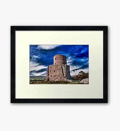Tretower Framed Print