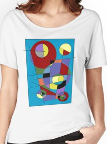 Abstract #40 Women's Relaxed Fit T-Shirt