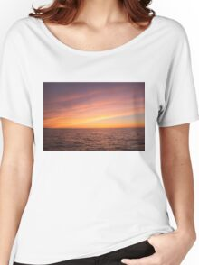 Sunset over Lake Ontario Women's Relaxed Fit T-Shirt