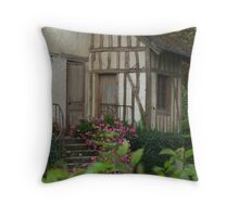 Queen's Hamlet, Versailles VII Throw Pillow