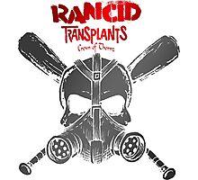 Retro Punk Restyling Rancid Photographic Print