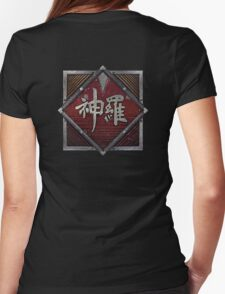 ShinRa Electric Power Company - Industrial Logo - Final Fantasy 7 Womens Fitted T-Shirt