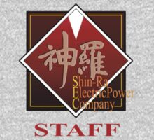 ShinRa Electric Power Company - Staff - Final Fantasy 7 One Piece - Long Sleeve