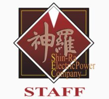 ShinRa Electric Power Company - Staff - Final Fantasy 7 One Piece - Short Sleeve
