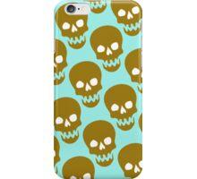 gold skulls iPhone Case/Skin