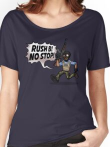 Rush B! No Stop! Women's Relaxed Fit T-Shirt