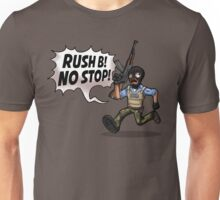 Rush B! No Stop! Unisex T-Shirt