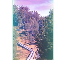 Tarreleah Pipeline, Expired Film. Photographic Print