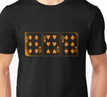 666 Cards - Orange Unisex T-Shirt