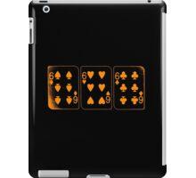 666 Cards - Orange iPad Case/Skin
