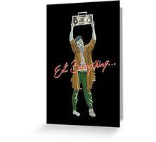 Eat Brainything Greeting Card