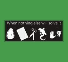 Rock. Paper. Scissors. Lizard. Spock! Kids Clothes