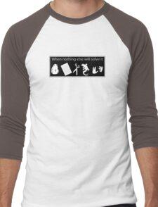 Rock. Paper. Scissors. Lizard. Spock! Men's Baseball ¾ T-Shirt