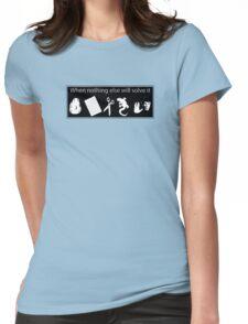 Rock. Paper. Scissors. Lizard. Spock! Womens Fitted T-Shirt