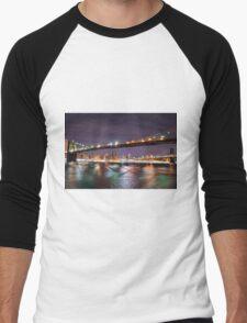 Criss Cross  Men's Baseball ¾ T-Shirt
