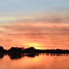 Sunset Over Lake by bloke28