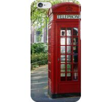 London Phone Box iPhone Case/Skin