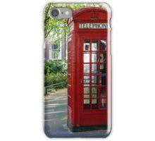 London Phone Box iPhone Case/Skin