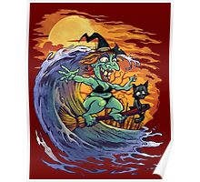 Witch At the Beach Poster