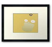 Pokemon - Psyduck Framed Print