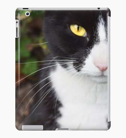 Yellow Cat Eyes iPad Case/Skin