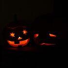 Two Pumpkins by Denise Abé