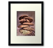 Balanced Diet Framed Print