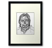 The Master Of Horror Framed Print
