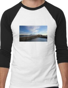 Storseisundet Bridge - Atlantic Road - Norway Men's Baseball ¾ T-Shirt