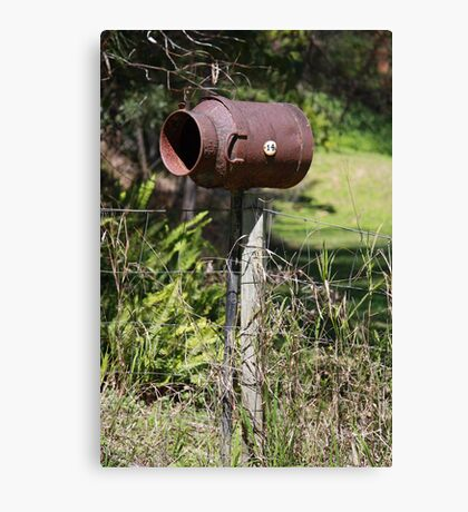 A Country Mailbox Canvas Print
