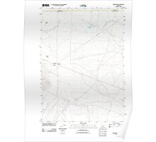 USGS Topo Map Oregon Brothers 20110829 TM Poster