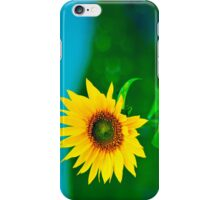 Close up of colorful Sunflower iPhone Case/Skin
