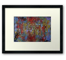 love splat Framed Print