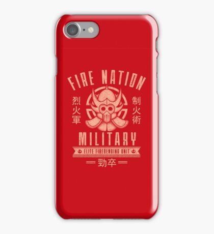 Avatar Fire Nation iPhone Case/Skin