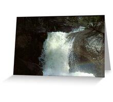 Yosemite Forks Falls Greeting Card