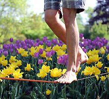 Flower Slacklining by Teka77