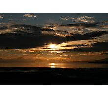 Sunset in Anchorage Photographic Print