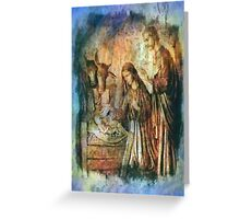 The Birth of Jesus The Prince of Peace Christmas Card Greeting Card