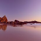 Currumbin Rocks Reflections by Kate Wall