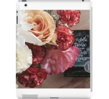Flower Book iPad Case/Skin