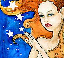 I Dreamt I Touched the Stars by Rebecca Lesny