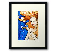 I Dreamt I Touched the Stars Framed Print