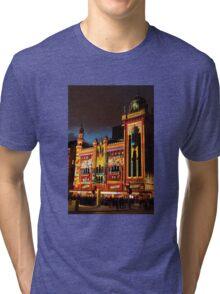 0343 Melbourne - White Night 3 Tri-blend T-Shirt