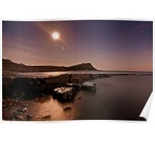 Kimmeridge Moonlight Poster