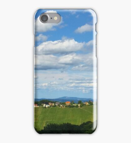 Clouds over  Wine Country iPhone Case/Skin