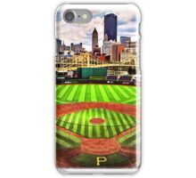 """PNC Park - """"Home of the Pittsburgh Pirates"""" iPhone Case/Skin"""