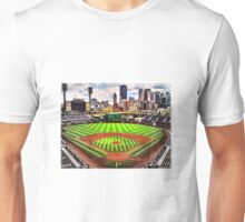 "PNC Park - ""Home of the Pittsburgh Pirates"" Unisex T-Shirt"