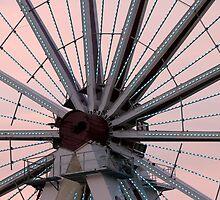 ferris wheel center by Teka77